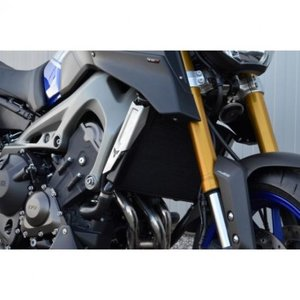 Topblock Radiator scoops - Zwart MT09