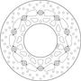 BREMBO REMSCHIJF BRAKE DISC, 78B40871