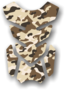 Tankpad Booster 3D Desert