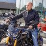 Yamaha heren motorjas Urban - kort